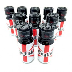 English 25ml Bottle x 10